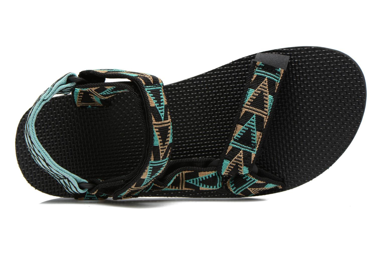Sandales et nu-pieds Teva Original Universal Mashup Noir vue gauche