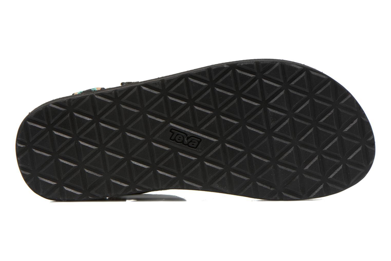 Sandales et nu-pieds Teva Original Universal Mashup Noir vue haut