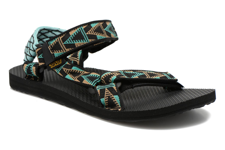 Sandals Teva Original Universal Mashup Black detailed view/ Pair view