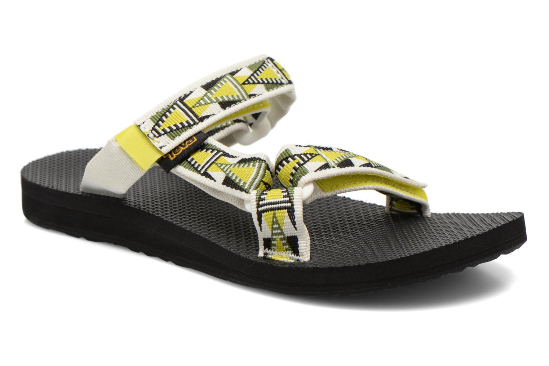 Marques Chaussure femme Teva femme Universal Slide W Mosaic Atomic Lime