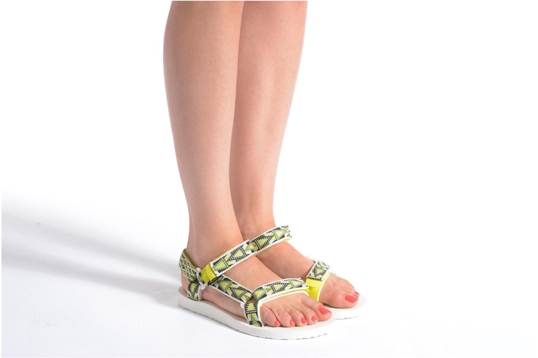 Sandales et nu-pieds Teva Original Universal Mashup W Multicolore vue bas / vue portée sac