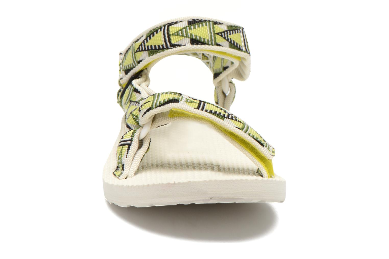 Sandales et nu-pieds Teva Original Universal Mashup W Multicolore vue portées chaussures