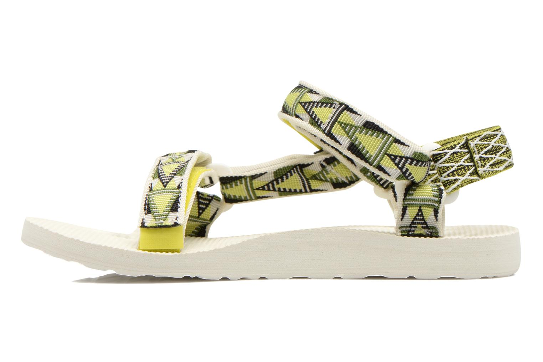 Sandales et nu-pieds Teva Original Universal Mashup W Multicolore vue face