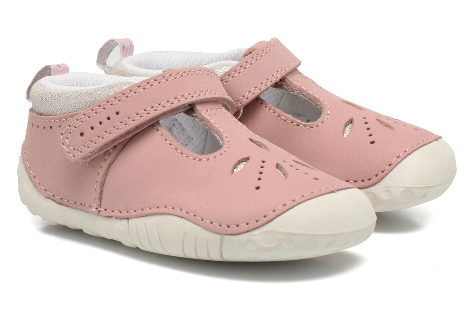 Chaussons Start Rite Polly Rose vue 3/4