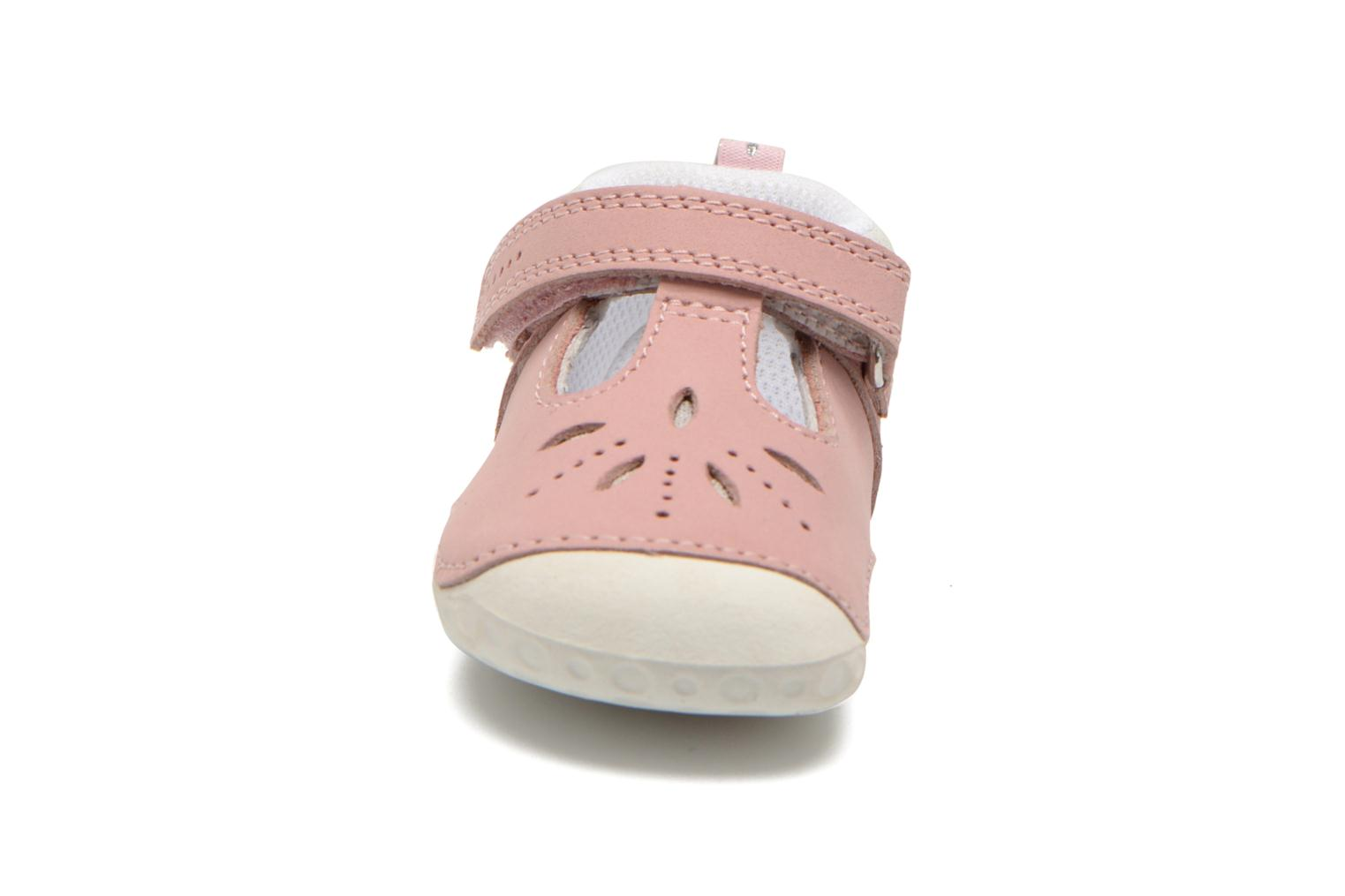 Chaussons Start Rite Polly Rose vue portées chaussures