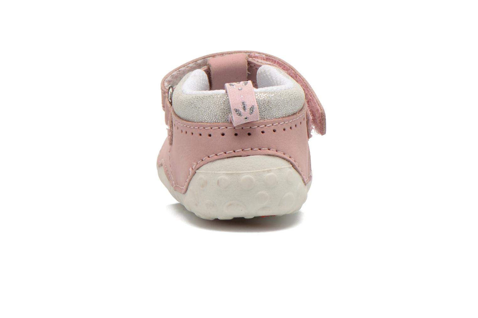 Chaussons Start Rite Polly Rose vue droite