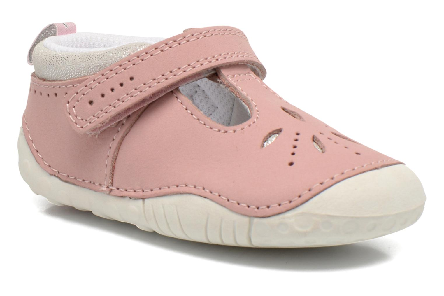 Chaussons Start Rite Polly Rose vue détail/paire
