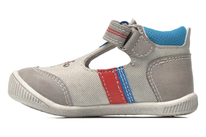 Chaussures à scratch NA! Acrobat Gris vue face