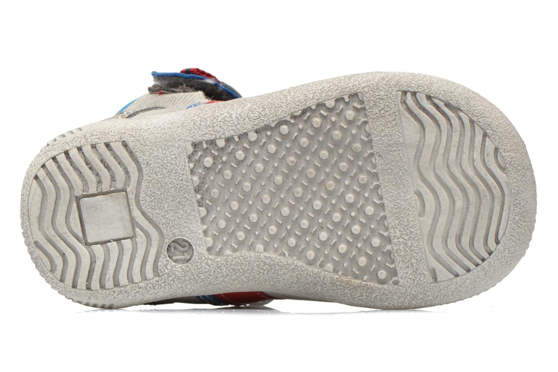 Chaussures à scratch NA! Acrobat Gris vue haut