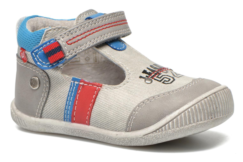 Chaussures à scratch NA! Acrobat Gris vue détail/paire