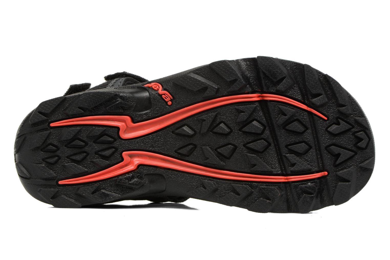 Sandales et nu-pieds Teva Tanza Kids Noir vue haut