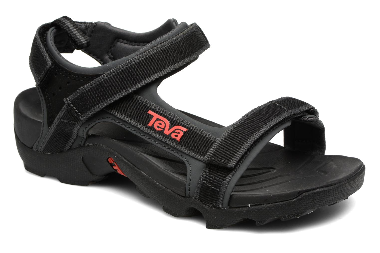 Tanza Kids Black / Grey / Red