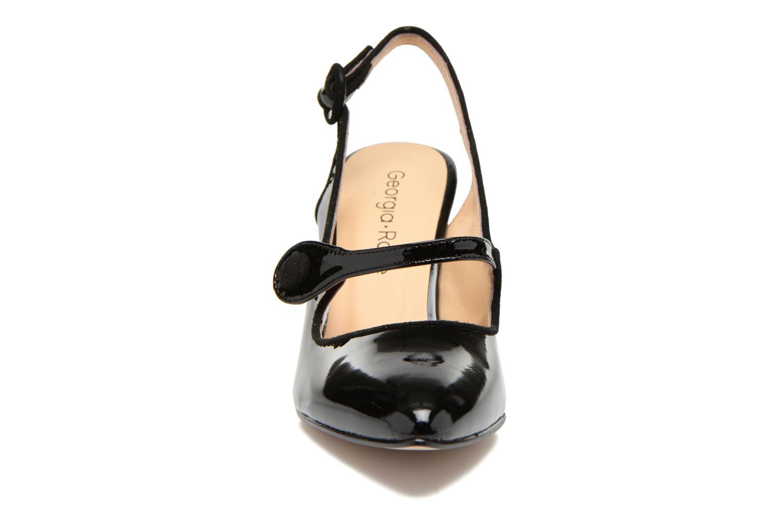 Escarpins Georgia Rose Steed Noir vue portées chaussures