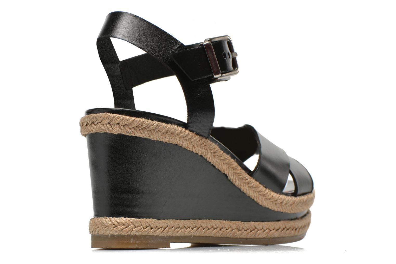 Sandales et nu-pieds Made by SARENZA Menthe Hello #20 Noir vue portées chaussures