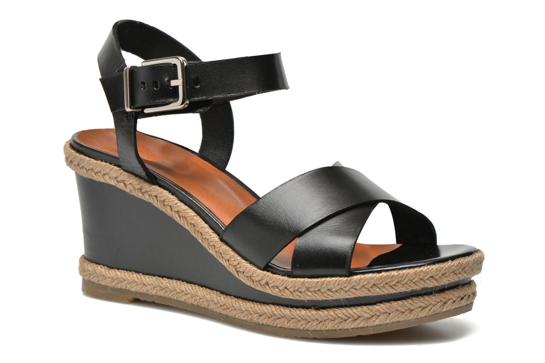 Sandales et nu-pieds Made by SARENZA Menthe Hello #20 Noir vue face