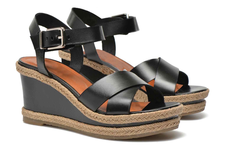 Sandales et nu-pieds Made by SARENZA Menthe Hello #20 Noir vue droite