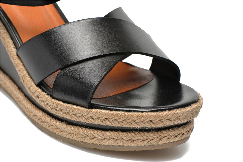 Sandales et nu-pieds Made by SARENZA Menthe Hello #20 Noir vue derrière