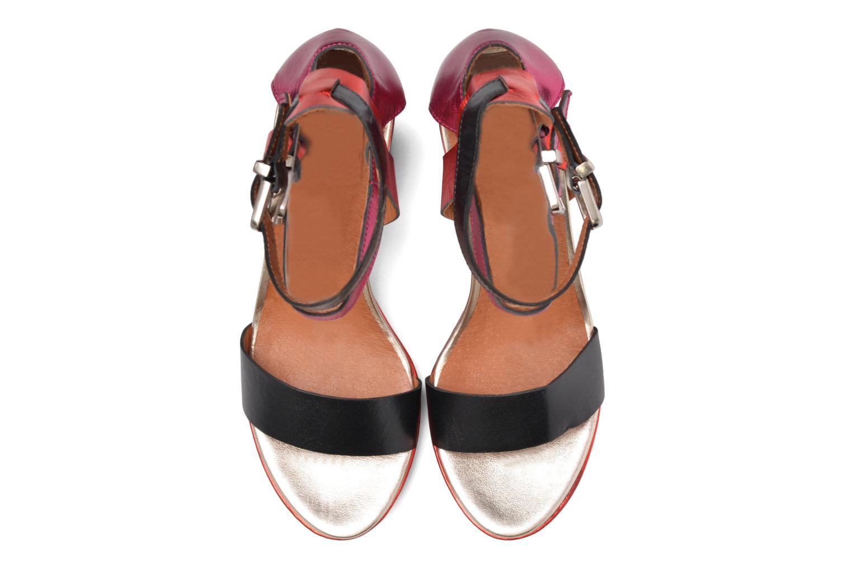 Sandalen Made by SARENZA Glossy Cindy #12 mehrfarbig schuhe getragen