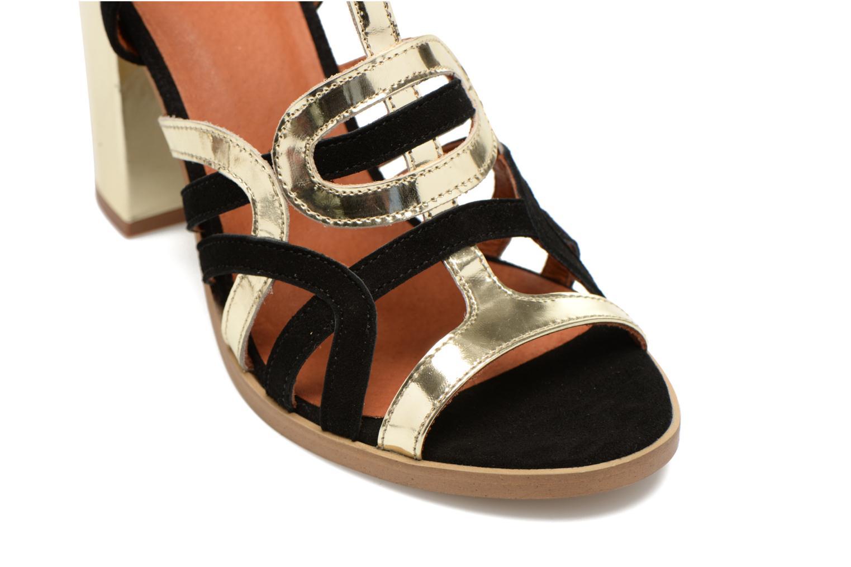 Sandales et nu-pieds Made by SARENZA Square Simone#1 Noir vue derrière