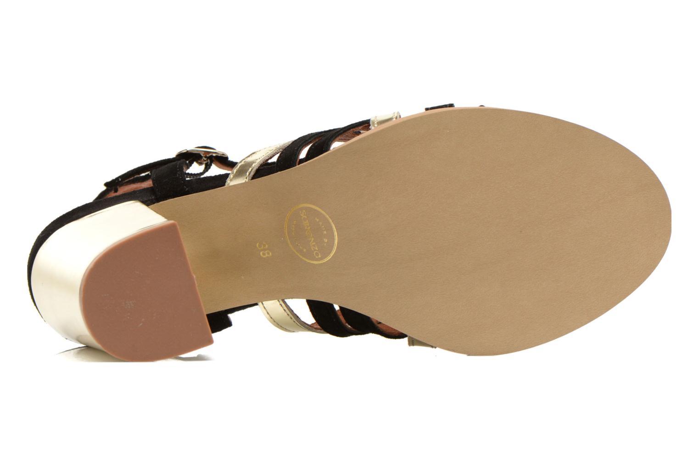 Sandales et nu-pieds Made by SARENZA Square Simone#1 Noir vue gauche