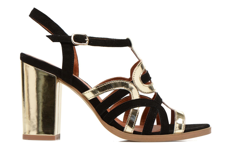 Sandales et nu-pieds Made by SARENZA Square Simone#1 Noir vue détail/paire