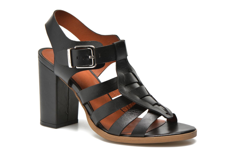 Sandalias Made by SARENZA Menthe Hello #16 Negro vista de frente