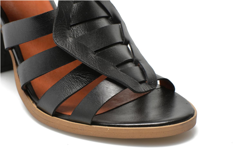 Sandales et nu-pieds Made by SARENZA Menthe Hello #16 Noir vue derrière
