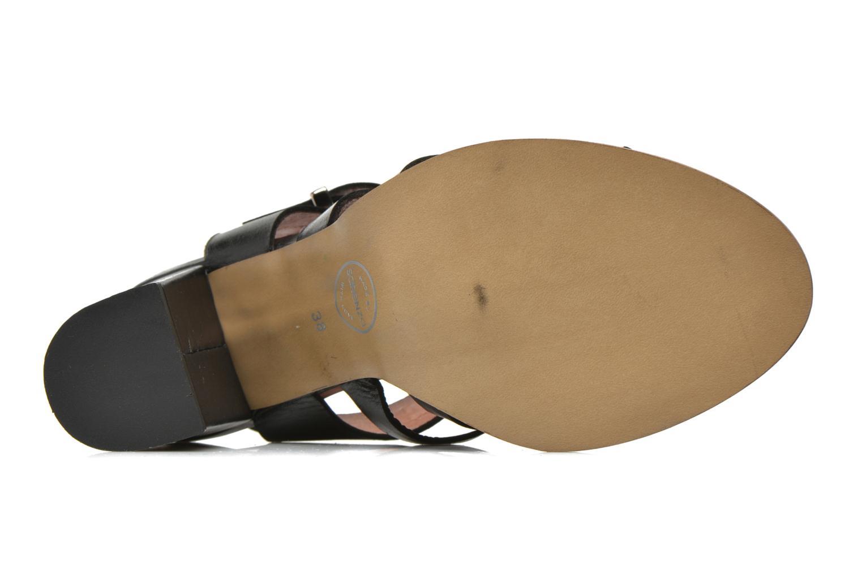 Sandali e scarpe aperte Made by SARENZA Menthe Hello #16 Nero immagine sinistra