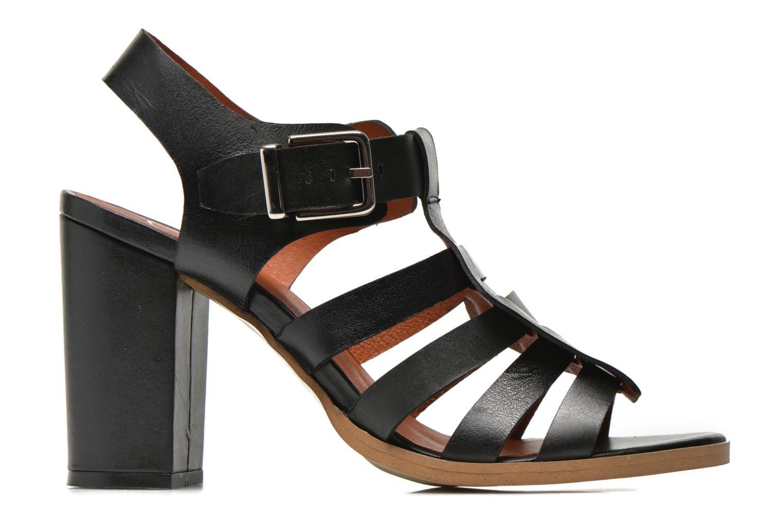 Sandalias Made by SARENZA Menthe Hello #16 Negro vista de detalle / par