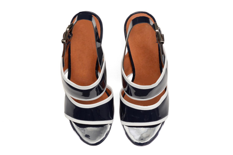 Sandales et nu-pieds Made by SARENZA Menthe Hello #17 Bleu vue portées chaussures