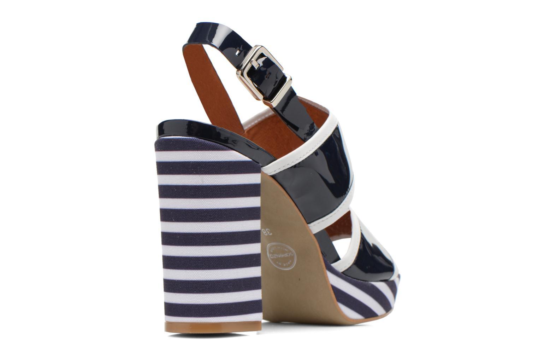 Sandales et nu-pieds Made by SARENZA Menthe Hello #17 Bleu vue face