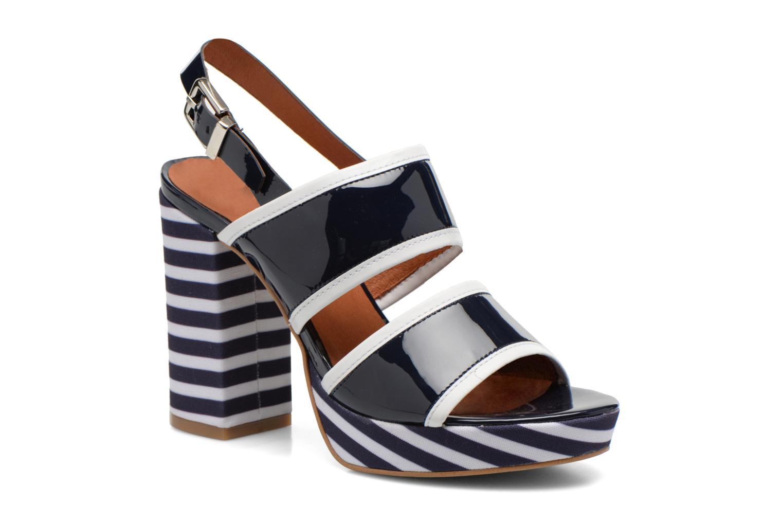 Sandales et nu-pieds Made by SARENZA Menthe Hello #17 Bleu vue droite
