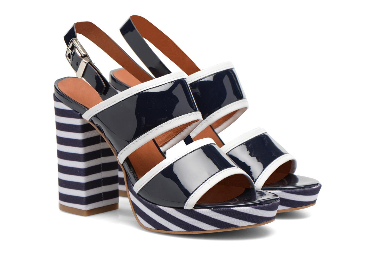 Sandales et nu-pieds Made by SARENZA Menthe Hello #17 Bleu vue derrière