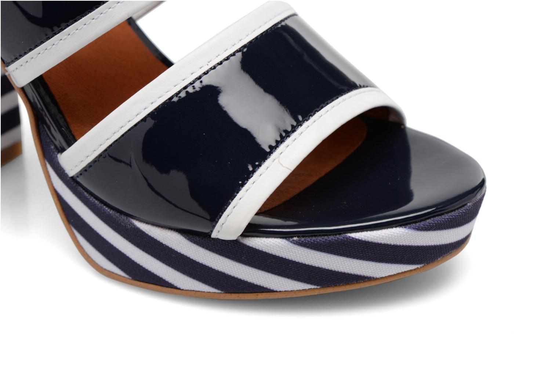 Sandalias Made by SARENZA Menthe Hello #17 Azul vista lateral izquierda