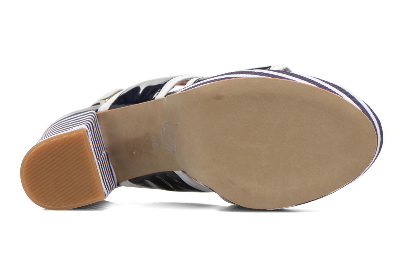 Sandales et nu-pieds Made by SARENZA Menthe Hello #17 Bleu vue haut