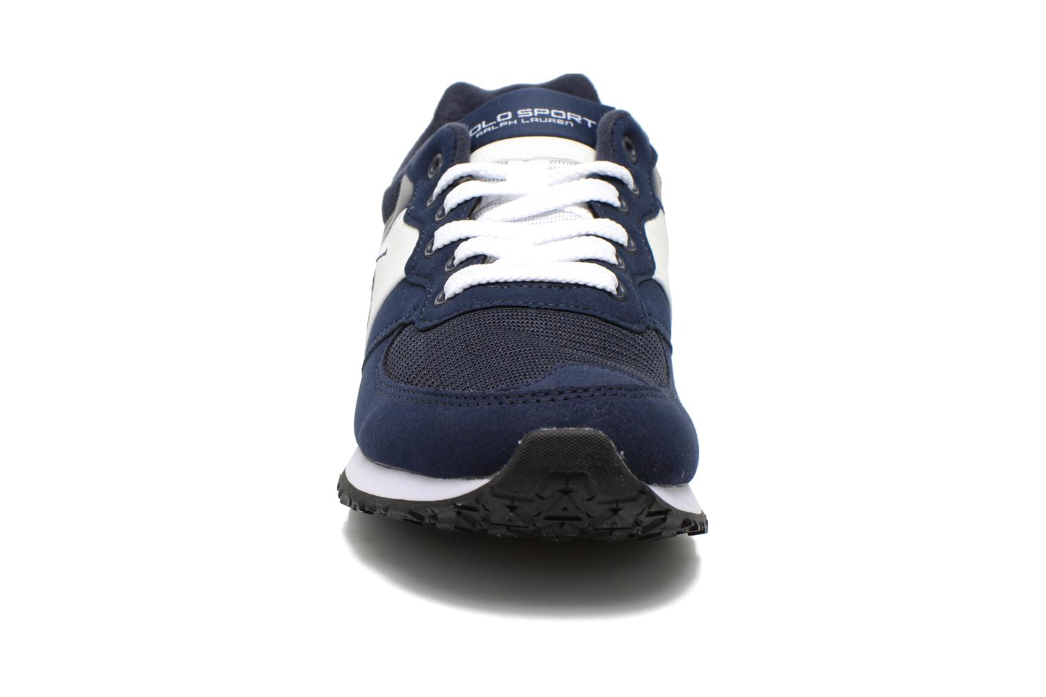 Trainers Polo Ralph Lauren Slaton Pony Blue model view