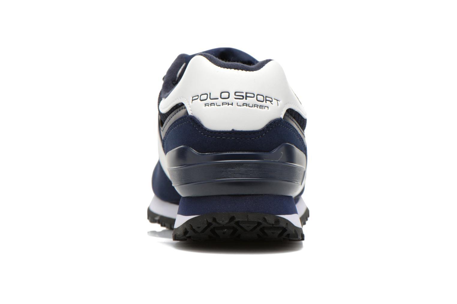 Trainers Polo Ralph Lauren Slaton Pony Blue view from the right
