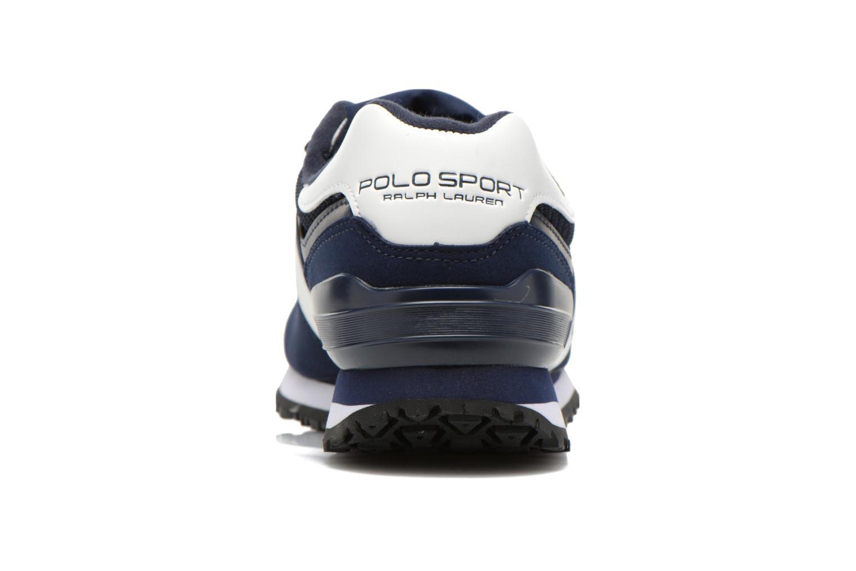 Sneaker Polo Ralph Lauren Slaton Pony blau ansicht von rechts