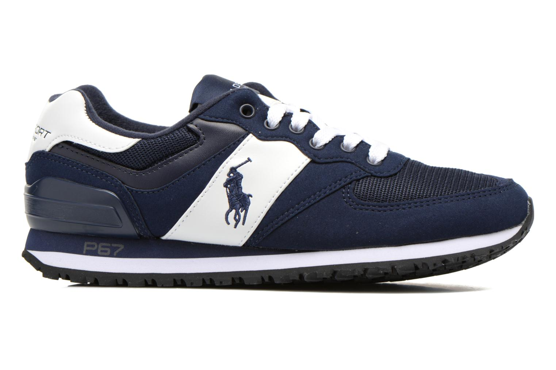 Sneakers Polo Ralph Lauren Slaton Pony Blå bild från baksidan