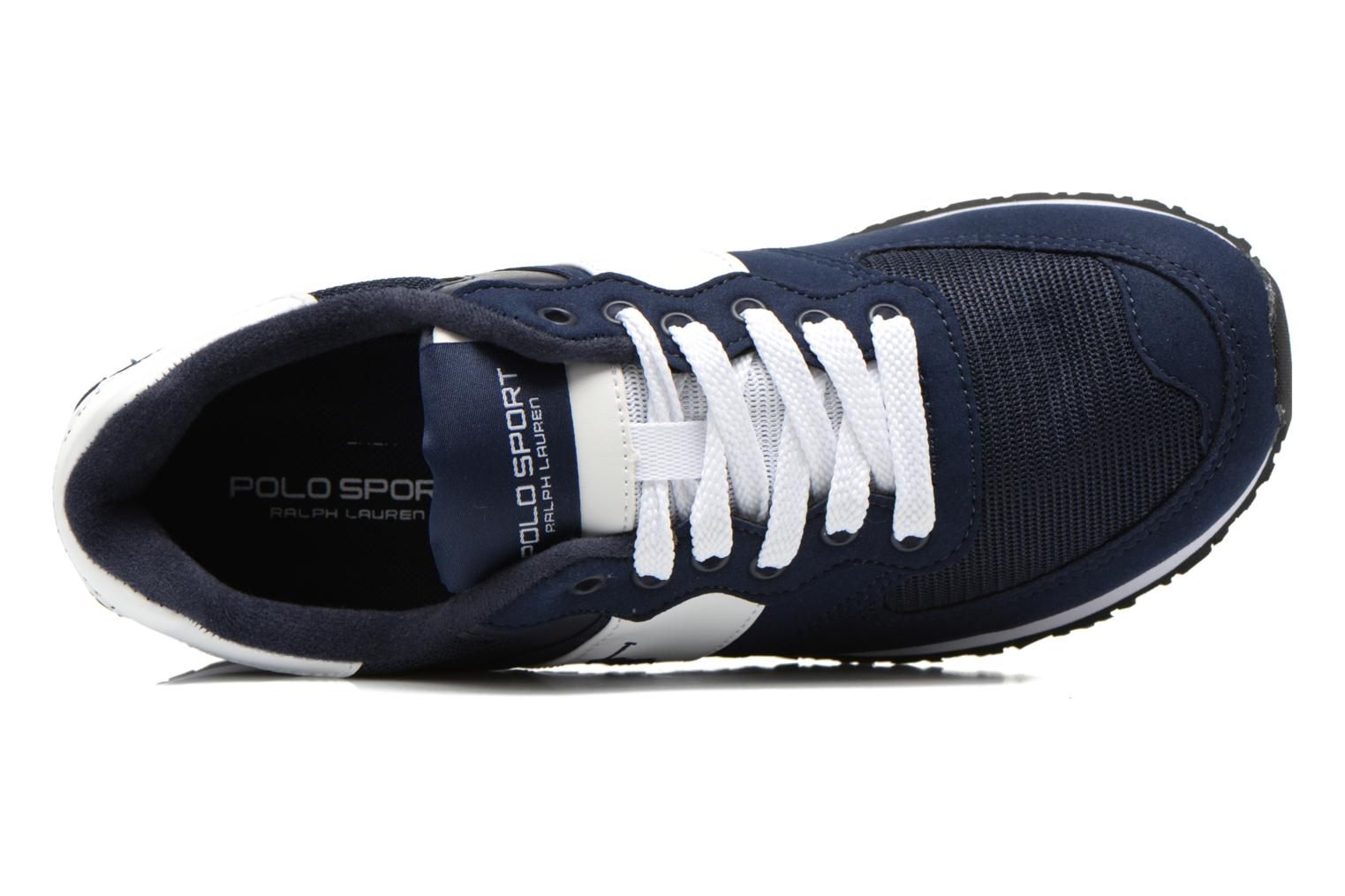 Trainers Polo Ralph Lauren Slaton Pony Blue view from the left