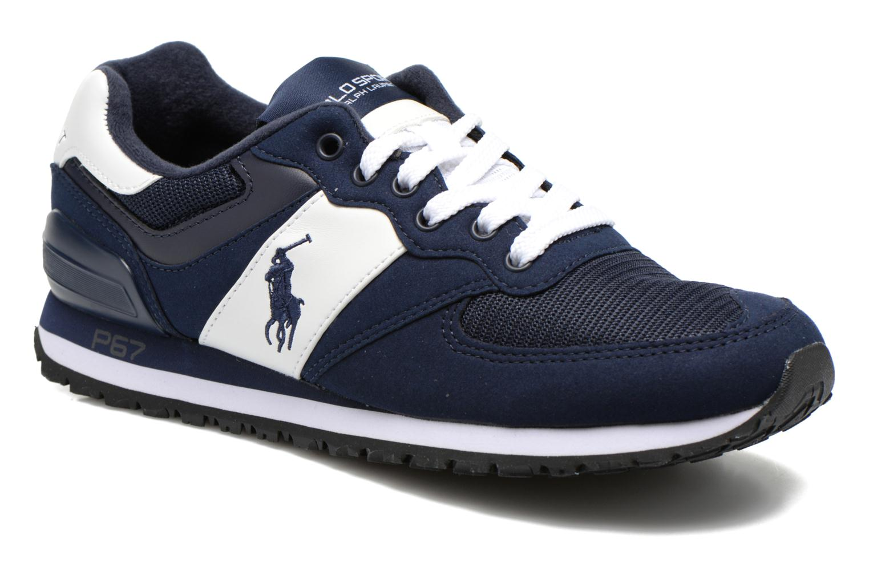 Sneakers Polo Ralph Lauren Slaton Pony Blå detaljerad bild på paret