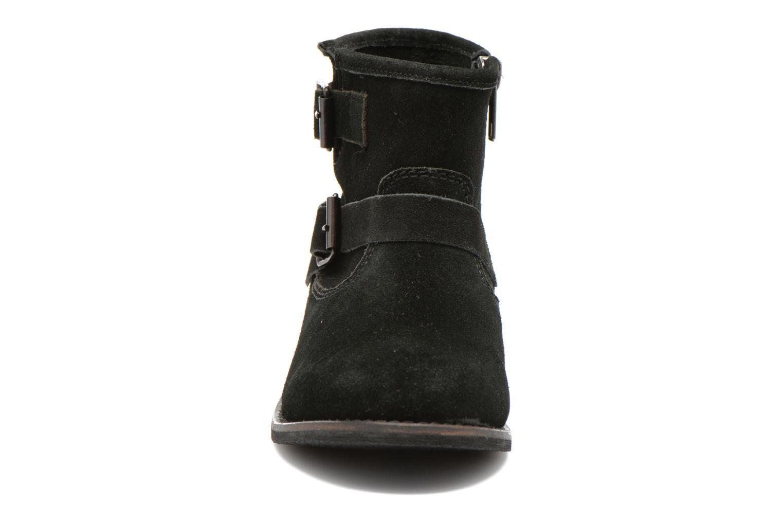Bottines et boots Initiale Paris Dollis Noir vue portées chaussures