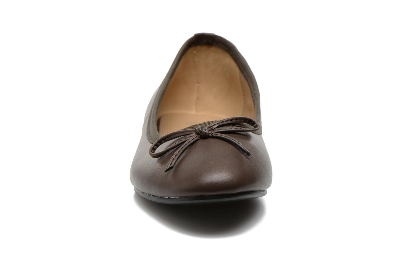Ballerines Initiale Paris Sean Marron vue portées chaussures
