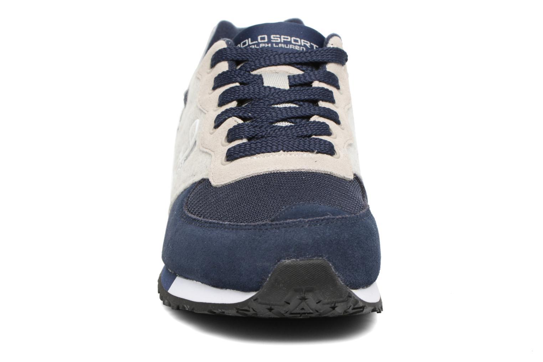 Baskets Polo Ralph Lauren Slaton Polo Bleu vue portées chaussures