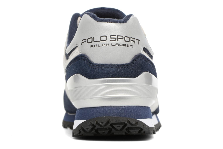 Baskets Polo Ralph Lauren Slaton Polo Bleu vue droite