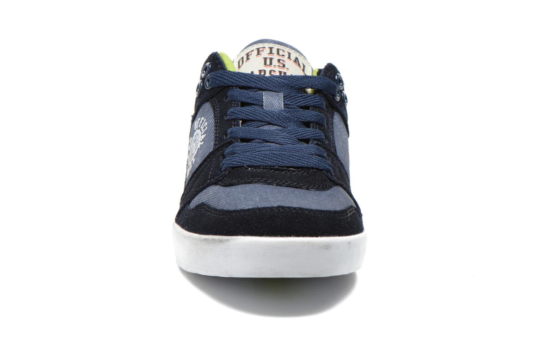 Baskets US Marshall Dasty Bleu vue portées chaussures