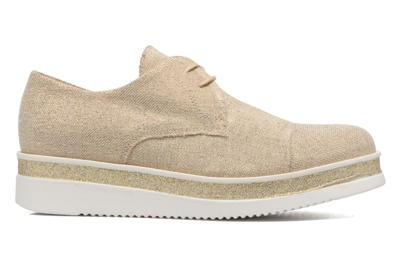 Chaussures à lacets Sweet Lemon L.12 Bahira Or et bronze vue derrière
