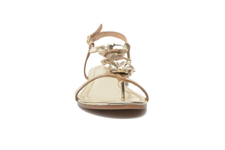 Sandales et nu-pieds Georgia Rose Lufroufrou Or et bronze vue portées chaussures