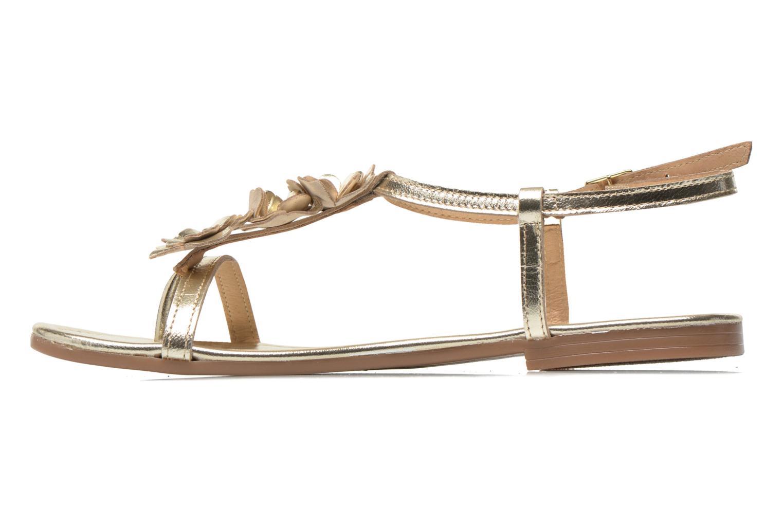 Sandales et nu-pieds Georgia Rose Lufroufrou Or et bronze vue face