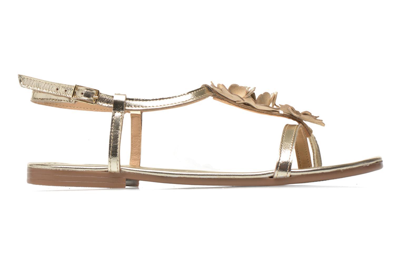 Sandales et nu-pieds Georgia Rose Lufroufrou Or et bronze vue derrière